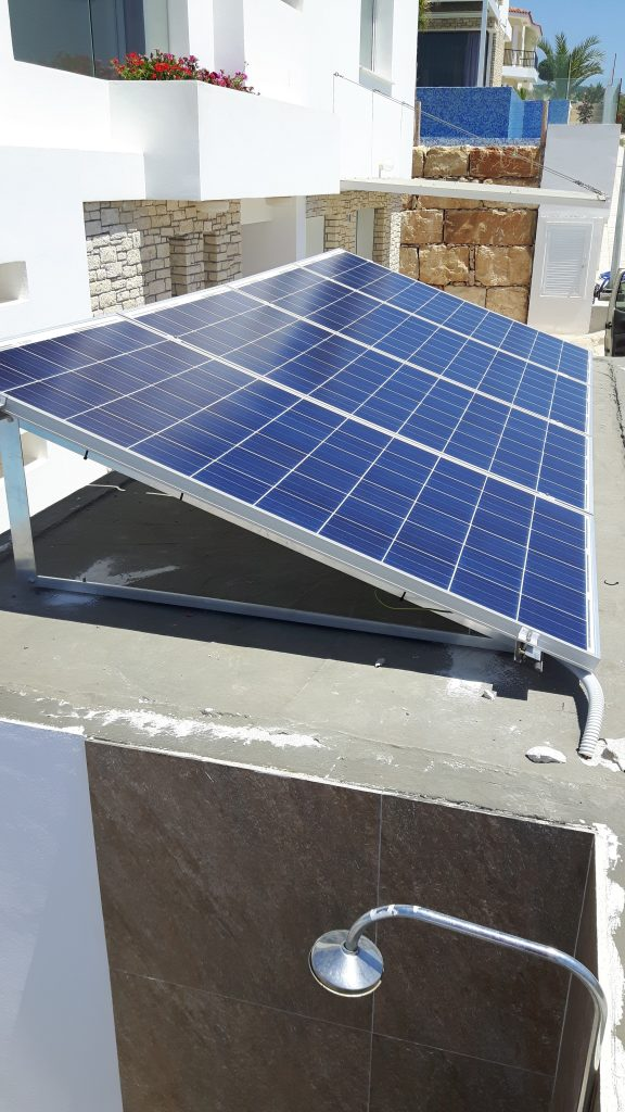 Pv Pool Pump In Paphos Peyia Trikkis Energy